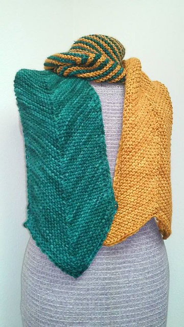 House Colors Chevron Scarf Inspiration Chevron Scarf Knitting Pattern